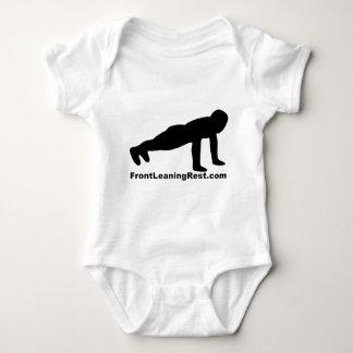 Front leaning rest.com contest participant baby bodysuit