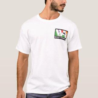 Front: little logo, Back: our prayer card & verse T-Shirt