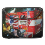 Front of Fire Engine MacBook Pro Sleeve