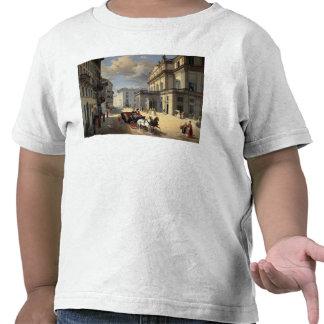 Front of La Scala Theatre, 1852 Tee Shirt