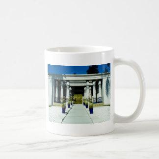 Front of San Jose Egyptian Museum_.jpg Coffee Mug