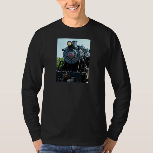 Front of Steam Locomotive T-Shirt
