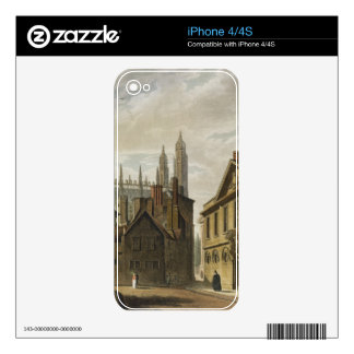 Front of Trinity Hall, Cambridge, from 'The Histor Decals For The iPhone 4