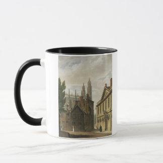 Front of Trinity Hall, Cambridge, from 'The Histor Mug