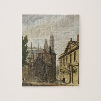 Front of Trinity Hall, Cambridge, from 'The Histor Jigsaw Puzzles