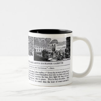 Front page of the 'National Co-operative Trades' Two-Tone Coffee Mug