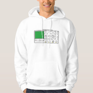 Front Panel of an Oscilloscope Voltage Tester Hoodie