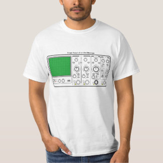 Front Panel of an Oscilloscope Voltage Tester Shirt