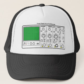 Front Panel of an Oscilloscope Voltage Tester Trucker Hat