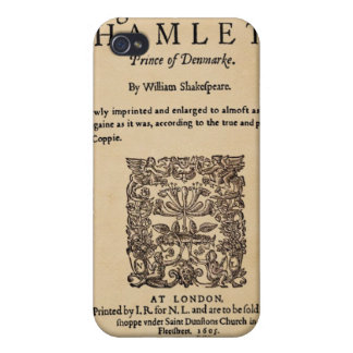 Front Piece to Hamlet Quarto (1605 version) iPhone 4/4S Cover