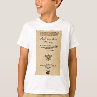 Front Piece to Much Ado About Nothing Quarto T-Shirt
