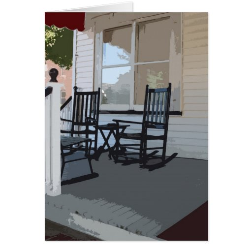 Front Porch in Ocean Grove NJ Cards
