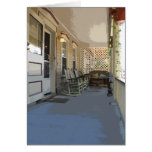 Front Porch in Ocean Grove NJ Greeting Card