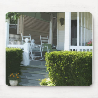 Front Porch in Ocean Grove NJ Mouse Pad