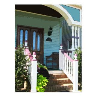 Front Porch in Ocean Grove NJ Postcard