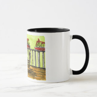 Front Porch Painting Mug