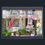 """Front Porch Parade - Beautiful 12 Month Calendar<br><div class=""""desc"""">Porch lovers! This calendar is for you. Twelve months of inspiring front porches. Perfect gift for porch-loving friends, family and yourself. May you enjoy these beautiful front porches as you turn the page each month. Everything is better on the front porch whether you are with a special someone or enjoying...</div>"""