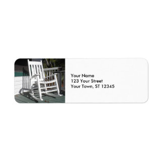 Front Porch Rocking Chair Label