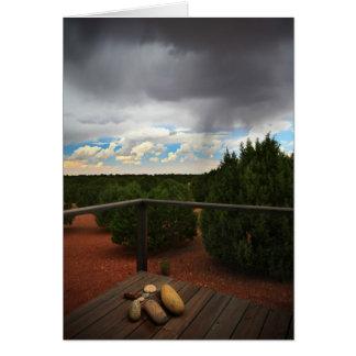 Front porch storm card