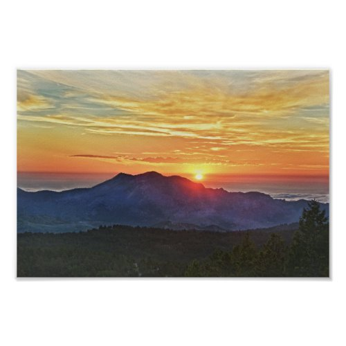 Front Range Sunrise, Colorado Poster