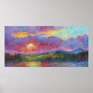 """Front Range Sunset""  Print"