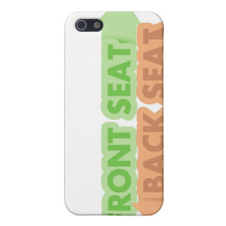 Front Seat / Back Seat iPhone Case