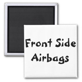 Front Side Airbags Fridge Magnet
