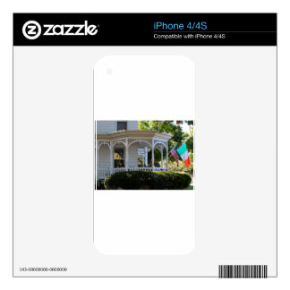 Front Street Porch Decal For The iPhone 4S