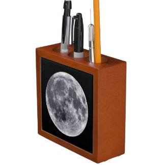 Front: The Moon; Back: The Farside Of The Moon Pencil/Pen Holder