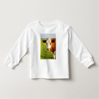 Front view Friesian cow Tee Shirt
