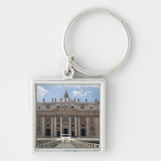 Front view of St. Peter's Basilica, Vatican. Keychain
