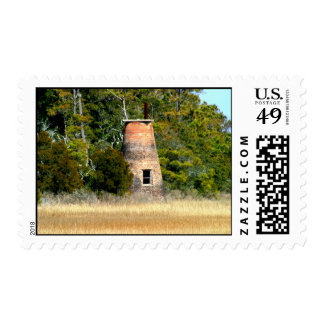 Front View of the Price Creek Light Postage Stamps