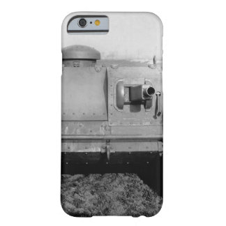 Front view of the two-man tank_War image Barely There iPhone 6 Case