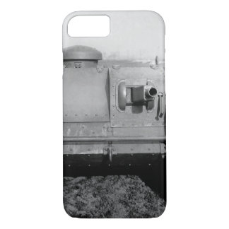 Front view of the two-man tank_War image iPhone 8/7 Case