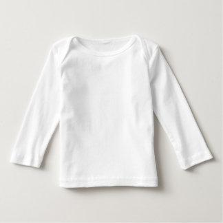 Front WHITE BLACK ORANGE Long Sleeve Football Baby Tshirt