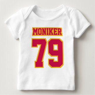 Front WHITE CRIMSON RED GOLD Shirt Football Jersey