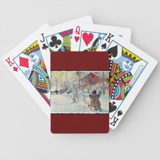 Front Yard and Wash House Bicycle Playing Cards
