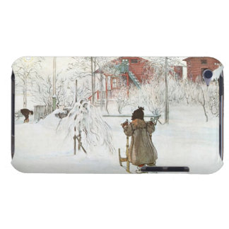 Front Yard and Wash House Carl Larsson Barely There iPod Cover