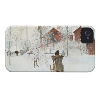 Front Yard and Wash House Carl Larsson iPhone 4 Cases