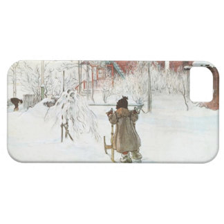 Front Yard and Wash House Carl Larsson iPhone 5 Cover