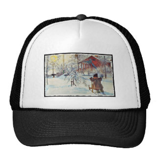 Front Yard and Wash House Hats
