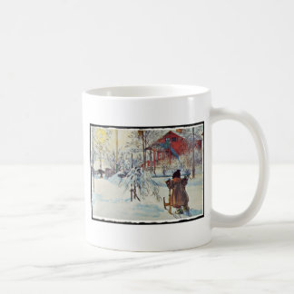 Front Yard and Wash House Classic White Coffee Mug