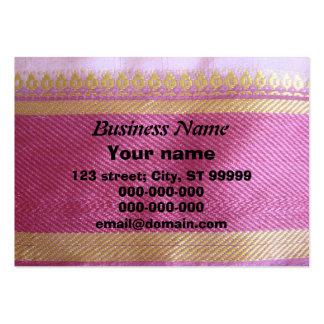 Frontera de la sari tarjetas de visita