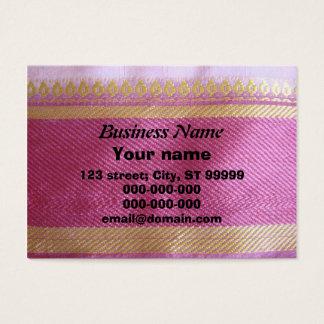 Frontera de la sari tarjeta de negocios