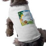 Frontera de la selva camisa de mascota