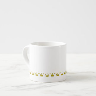 Frontera de oro de las coronas + sus ideas tazitas espresso
