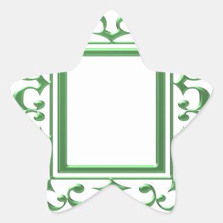 Frontera decorativa VERDE: Piense las aplicaciones
