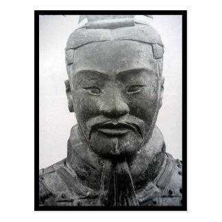frontera del guerrero de Xi'an Tarjetas Postales