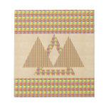 Frontera histórica de la energía del triángulo de  blocs de notas