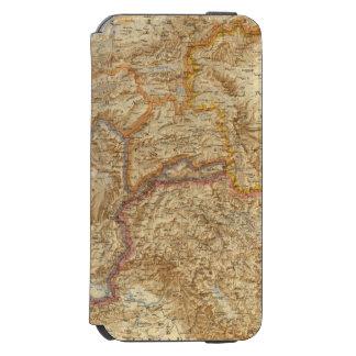 Frontera occidental del norte de la India Funda Billetera Para iPhone 6 Watson